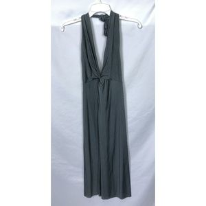 NWT Rozae Nichols Liquid Jersey Halter Dress